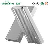 Aluminium Enclosure Case Faster Transfer Speed USB 3 0 External Hdd Enclosure 1TB Slim Disk Case