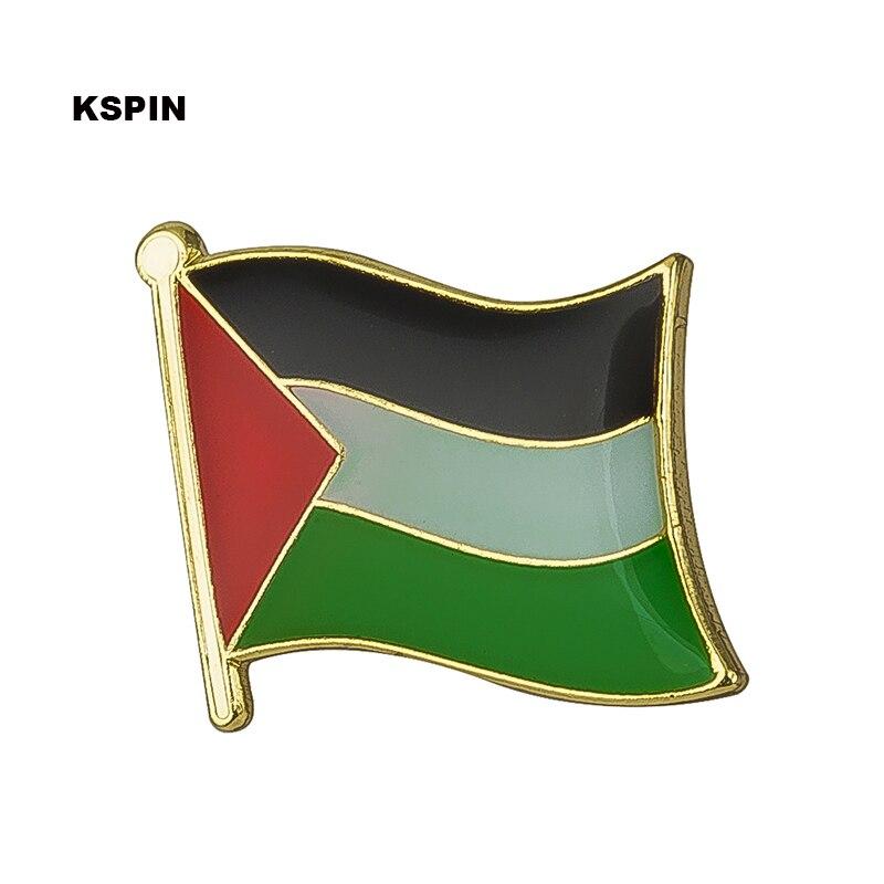 Металлический флаг Палестины, булавка, Значки для одежды, набор брошей в брошках