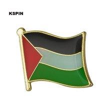 Broche metálico de lapela e bandeira, emblemas para roupas, conjunto de broches KS-0027