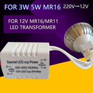 Image 5 - Đèn Lái 18 W Cấp Nguồn Đèn LED LED Biến Áp 12 V 5W 18 W 28 W 48 W 72 W 100 W Cho Dải Đèn LED MR16 Mr11