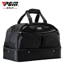 PGM Top Quality golf clothing bag men's double-decker large Capacity Waterproof Nylon Golf Sport Bags independent Shoes bag