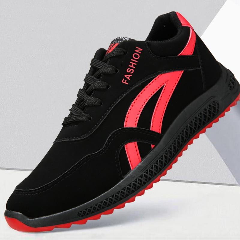 Hombre Hombres Zapatillas black Lujo Deporte 2018 Vulcanizados Diseñador Homens White Moda Zapatos De Calidad Negro Casuais Los Transpirables black Alta Red xvqSIT7