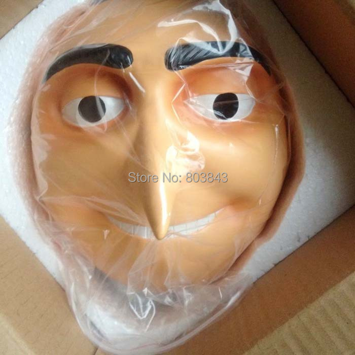 aliexpresscom buy delicate craft resin anime despicable me dr nefario mask for decoration collectibles carnival halloween party supplies 680g from