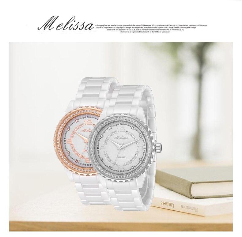 Os Amantes Da Marca Melissa Relógios Jóias
