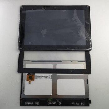 新液晶ディスプレイ + フレームアセンブリの交換ブラックレノボタブ A10-70 A7600 A7600-F A7600-H A7600F A7600H