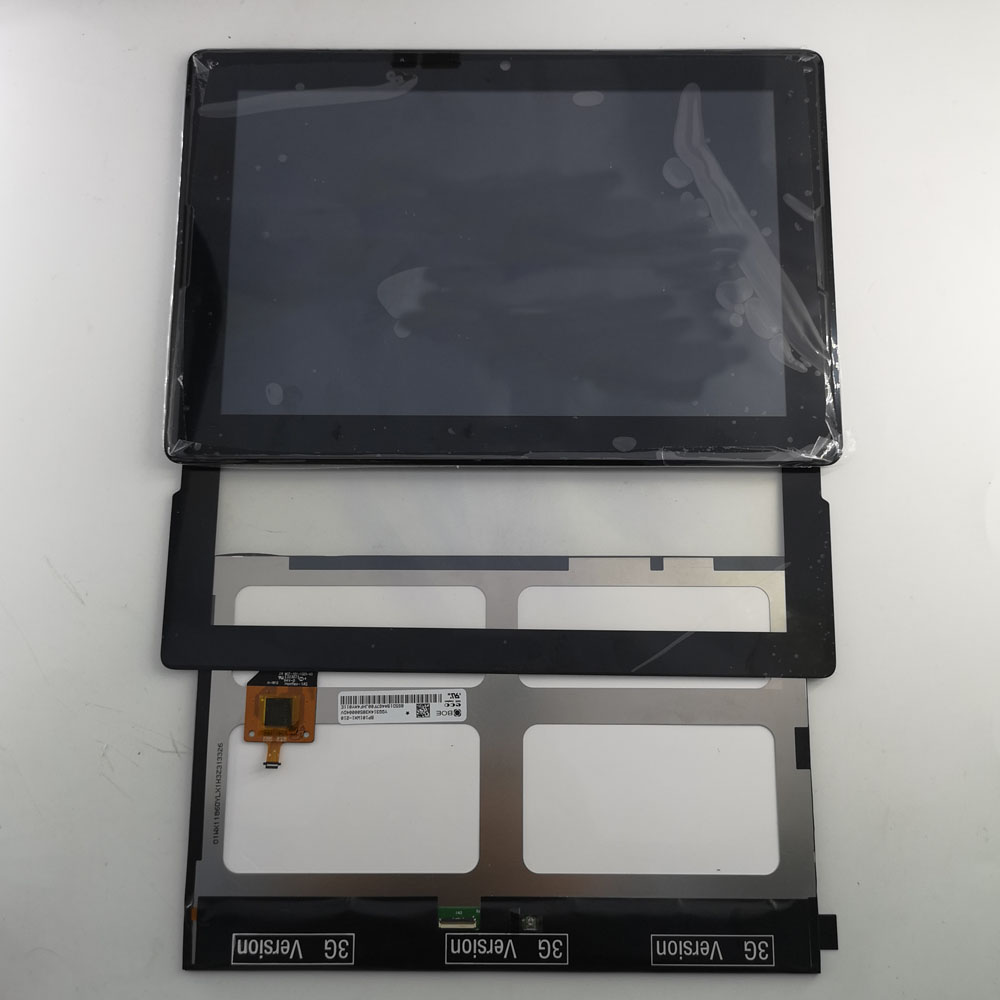 Touch-Screen Frame-Assembly-Replacement Lcd-Display A7600 Lenovo Tab A10-70 Black  title=
