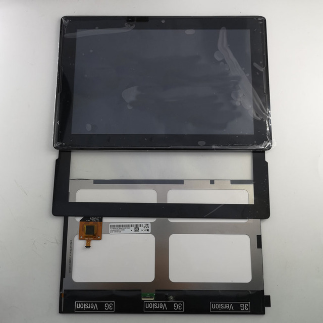 New LCD Display + Touch Screen with Frame Assembly Replacement  Black For Lenovo Tab A10-70 A7600 A7600-F A7600-H A7600F A7600H
