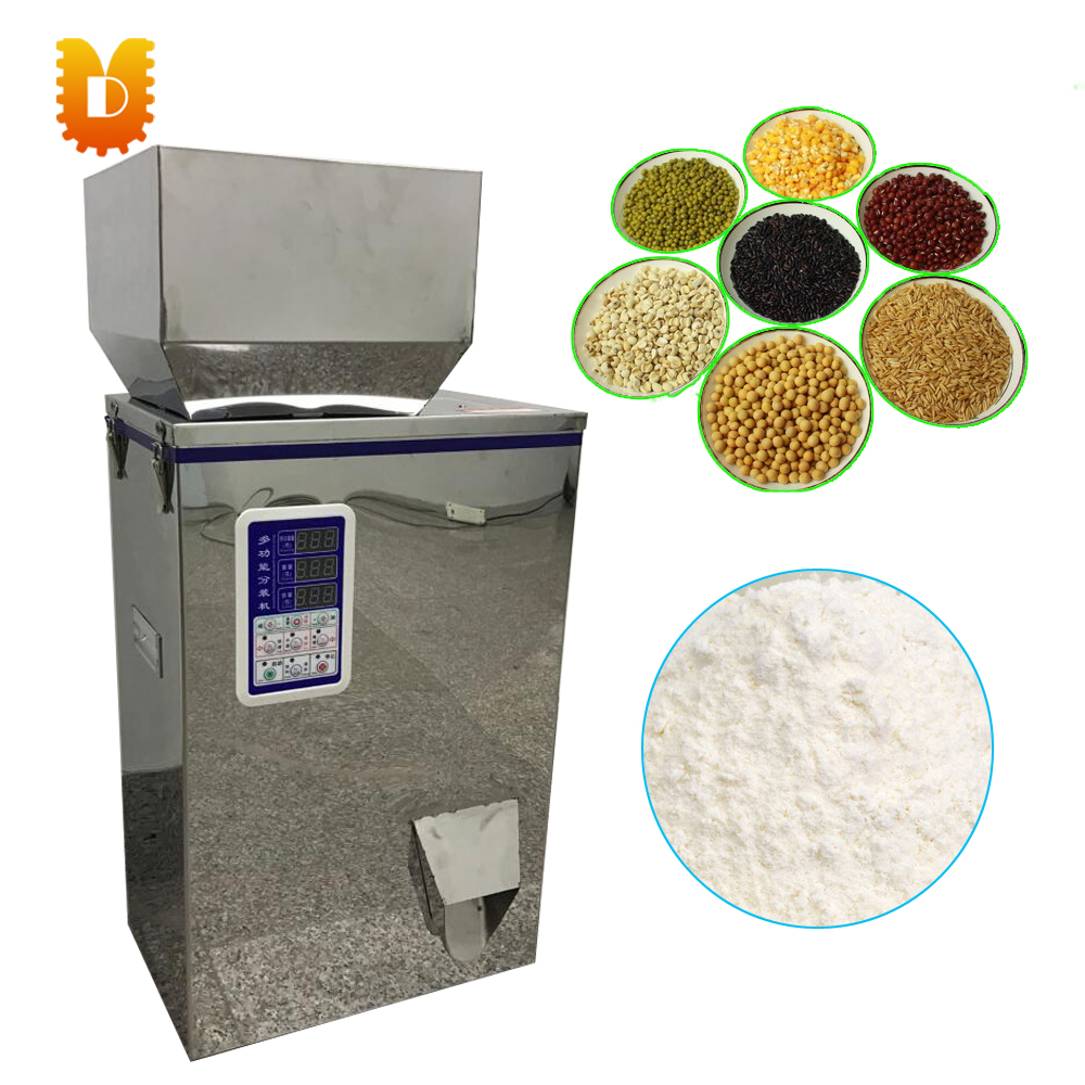 sunflower seed racking machine/rice racking machine/powder flour packing machine cursor positioning fully automatic weighing racking packing machine granular powder medicinal filling machine accurate 2 50g