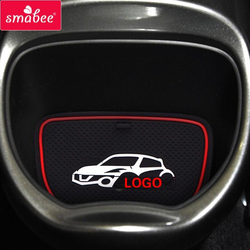 Smabee Porte fente pad Pour Nissan Juke nismo s sl sv décoration Accessoires Anti-Slip Mat