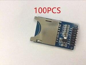 Электронный смарт-модуль для чтения и письма, 100 шт., SD-карта, разъем для чтения, рука микроконтроллер для arduino, Стартовый Набор DIY