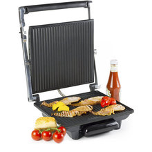 Grand Sandwich Maker Et Panini Grill, En Acier inoxydable Sandwich Contact Presse Panini Maker