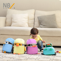 Newberry children anti lost backpack with traction rope 1 3 years old baby backpack Anti lost animal styling