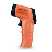 Wholesale prices 100% Authentic Victor 303B infrared thermometer Mini Handheld IR Infrared Gun, 350C Temperature measurement
