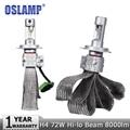 Oslamp H4 72W Car LED Headlight Bulb CREE Chips 12v 24v 8000lm 6500K Hi-Lo Beam Auto Led Headlamp DRL Fog Light Bulbs Headlights