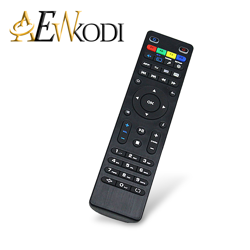 ANEWKODI Remote Control For 254 254 250 255 Linux System Smart TV Box IPTV Set Top Box DVB-T2 TV Free Shipping brand new mini streambox m3c dvb c cable main chip hi3716mv330 linux system hd channels set top box for singpore media player