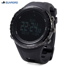 SUNROAD FR801B Professional Hiking Digital Sports Watch Altimeter Barometer Pedometer Thermometer Compass Wristwatch