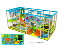 Exported to Canada Eco-friendly Kindergarten Soft Indoor Playground CE Certificated Nursery Indoor Play Equipment HZ-50615a(China)