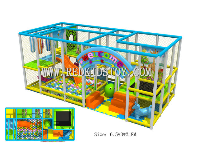 Exported To Canada Eco Friendly Kindergarten Soft Indoor Playground Ce Certificated Nursery Play Equipment Hz 50615a