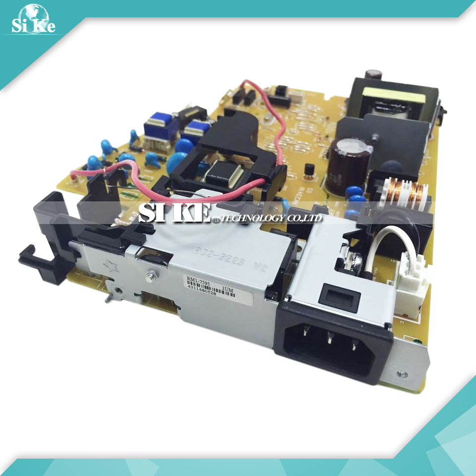 LaserJet Engine Control Power Board For HP P1102 P1106 P1108 P1102W RM1-7595 RM1-7596 1102 1106 1108 Voltage Power Supply Board цена