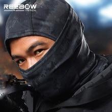 Onebow тактическая уличная спортивная велосипедная маска для лица Зима Осень Военный ниндзя плотная дышащая быстросохнущая SWAT полная маска для лица
