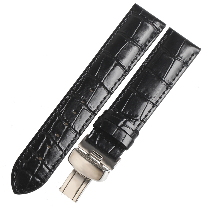 WENTULA watchbands for TISSOT t41 <font><b>PRC200</b></font>/T461 calf-leather band cow leather Genuine Leather leather <font><b>strap</b></font> watch band LE LOCLE image