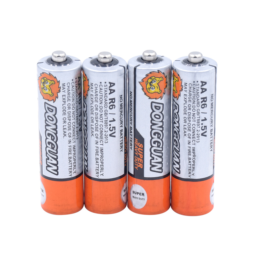 High Quality 1.5V AA Zinc Carbon Li-ion Li-Po Lithium Battery UM3 LR6 Replacement Dry Bateria Batteries For Toy Remote Control