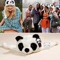 Унисекс мягкий Earflap шляпа cos-белые играть игрушки подарок шапочка зима тёплый комикс животное Panda кепка
