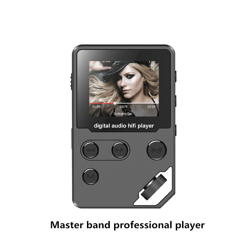 Volemer P2 Professional Master Band HiFi MP3 Player Dial Wheel Button 1.8inch TFT Color Screen Support APE FLAC for Phone