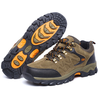 Top Quality Men Lace Up Cozy Climbing Shoes 2017 Non Slip Breathable Hiking Shoes Sneakers For