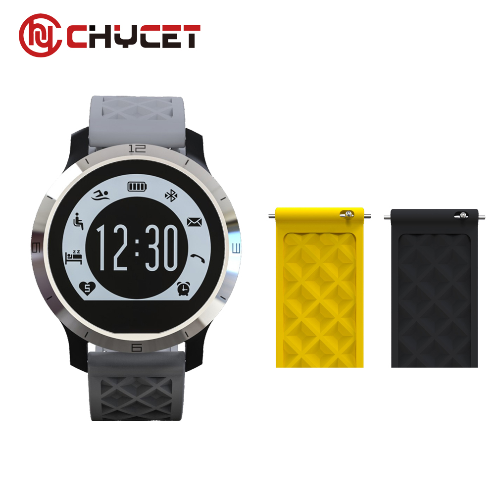 Chycet F69 IP68 waterproof swimming smart watch message remind smartwatch android ios pedometer sleep monitoring PK DZ09 GT08 U8