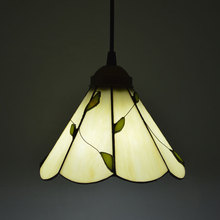цена на Tiffany Lighting Fashion American Rustic Pendant Light Small Leaves Bedroom Cafe Restaurant E27 110-240V