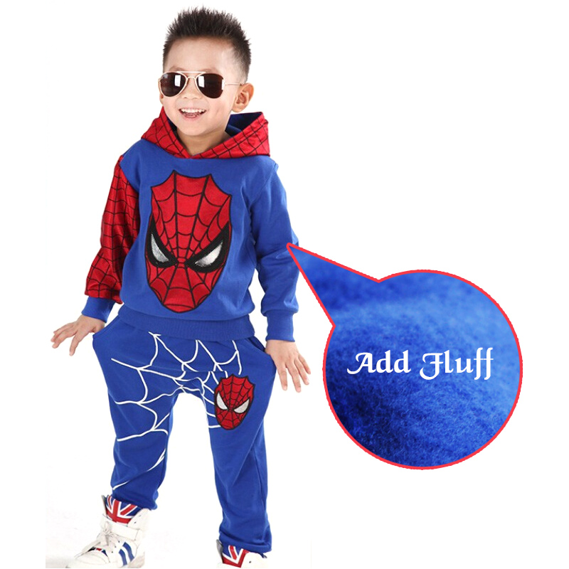 Hots Baby Fleece Boys Sets Cotton Sport Clothing Suit,Kids hallowmas Cosplay Clothes Suit,Children Clothing Suit paul frank baby boys supper julius fleece hoodie