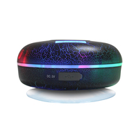 Bluetooth Shower Speaker,Waterproof IPX7 with LCD,FM Radio,NFC,2600mAh,Crack Light,Subwoofer,Compatible With All Cell