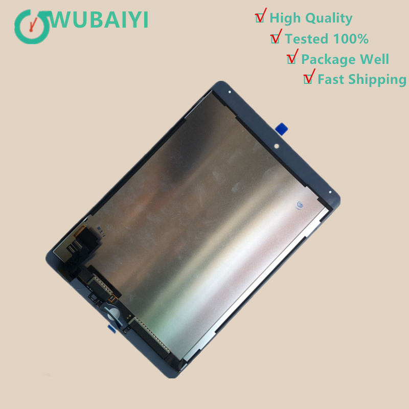 9.7 For Apple Ipad Air 2 ipad 6 A1567 A1566 Full Lcd Display With Touch Screen Digitizer Panel Assembly new 9 7 for apple ipad air 2 ipad 6 a1567 a1566 full lcd display with touch screen digitizer panel assembly complete
