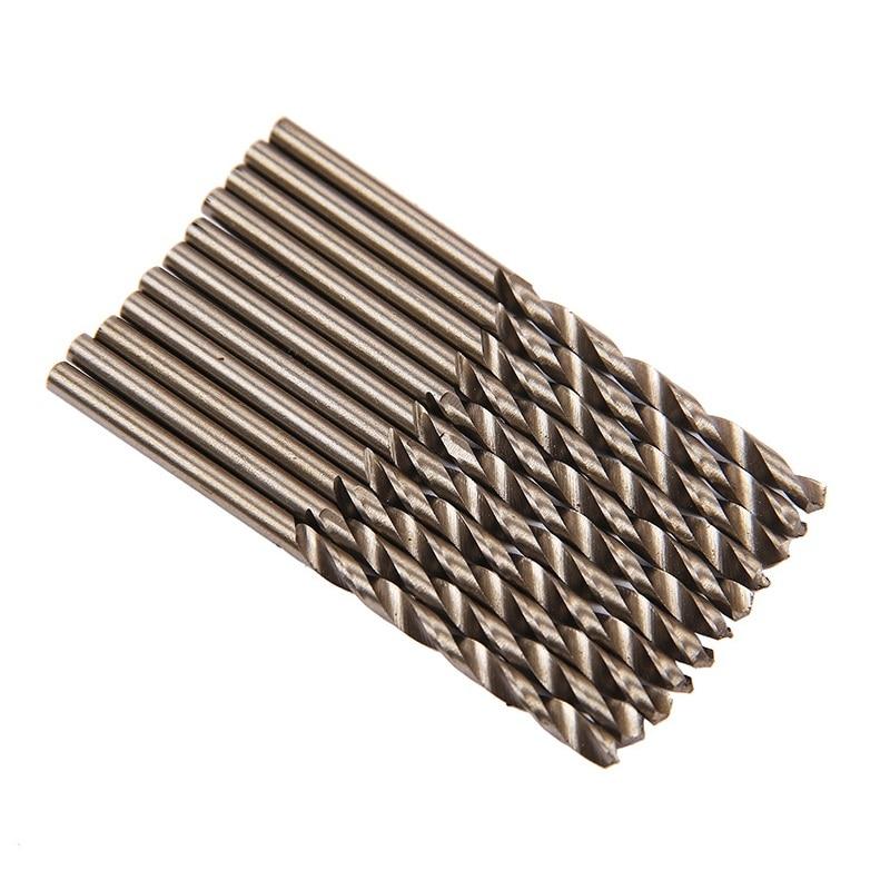 2pcs Twist Drill Bit Woodworking Home DIY Drilling High Speed Steel Wood Drilling 2.1mm 2.2mm 2.3mm 2.4mm 2.5mm 2.6mm