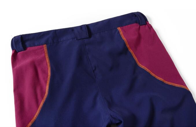de secagem rápida à prova de vento respirável calças