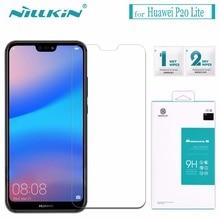 Nilkin для Huawei p20 Lite закаленное стекло Nillkin 9 H удивительные H мм 0,33 мм экран протектор стекло плёнки для Huawei p20 Lite/Nova 3E
