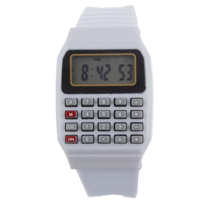 2016 Hot Sale Women Men Silicone Wrist watches Multi-Purpose Date Time Electronic Calculator reloj mujer Good-looking JUN 21  герметик силиконовый bostik multi purpose silicone a 0 28л прозрачный