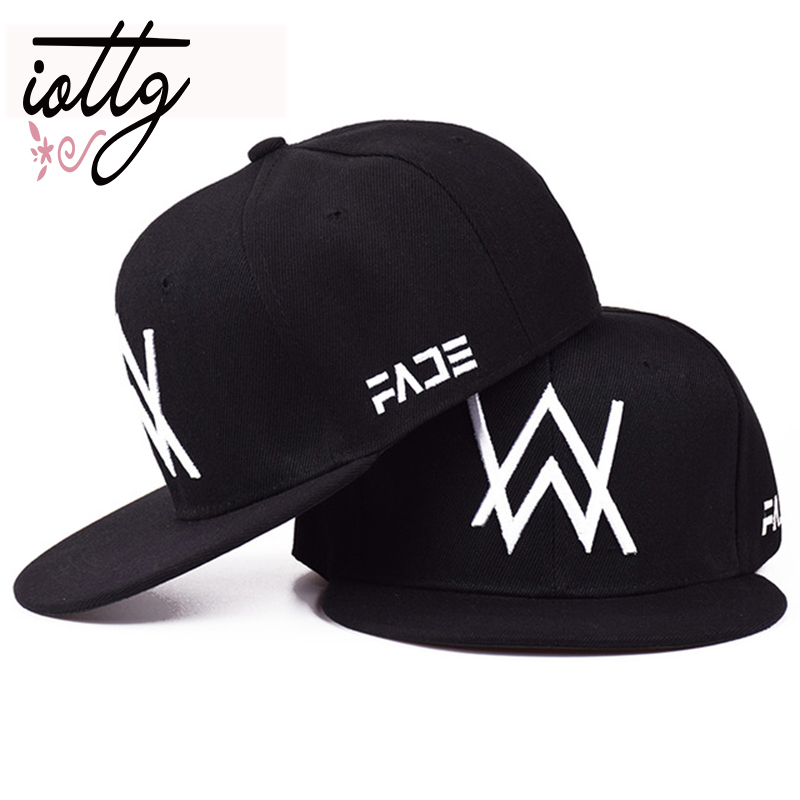 IOTTG 2018 New Alan Walker DJ   Baseball     Cap   Alan Walker With The Return Of Men And Women Hip-hop Hats Bone Snapback   Cap