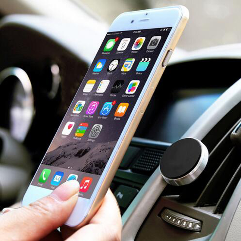 Air Vent Mount Magnet Support GPS Car Phone Holder For