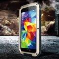 Nova moda 6 cores à prova de intempéries liga de Metal do telefone móvel para Galaxy i9600 s5 V