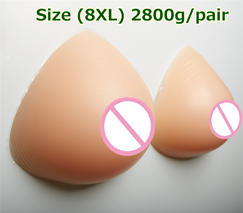 2800g/pair Full Breast Enhancers Silicone Realistic Breast Forms Adhesive Fake Breast Boobs Crossdresser Mastectomy realistic silicone breast forms prosthesis mastectomy for surgery woman false fake boobs