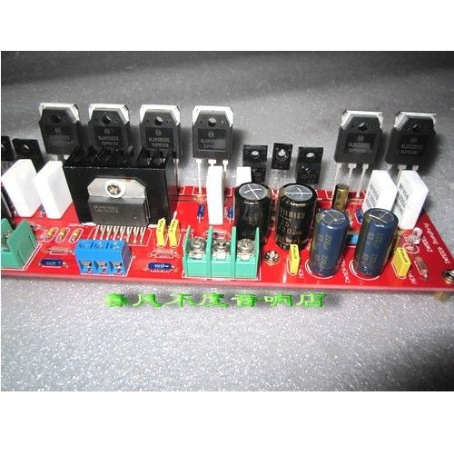 Pure Amplifier Board Without Radiator LM4702 Kit Dual DC 40~60V