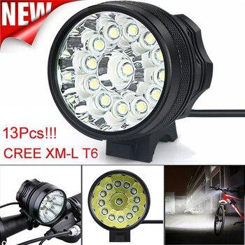 C3 Led ライト 32000 Lm 13x ライト T6 LED 3 モード自転車ランプ自転車ライトヘッドライトサイクリングトーチ防水卸売 & 小売