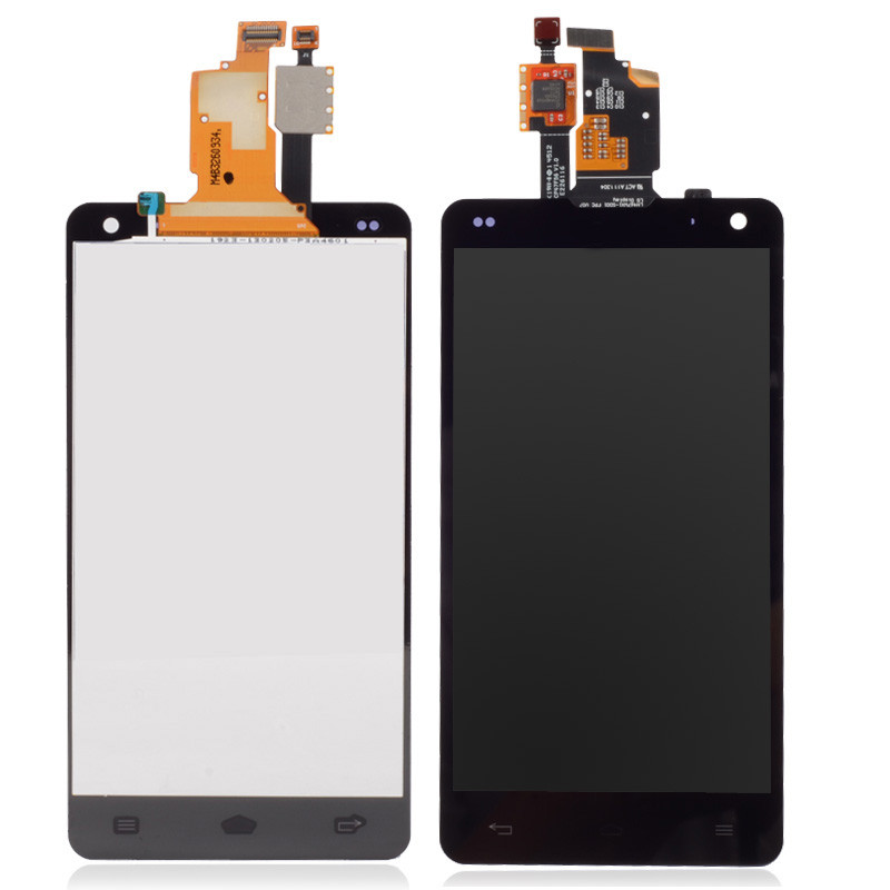 New Clear LCD Display Touch Screen Glass Assembly Fit For LG E975 F180 BA236 T18 0