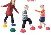 16cm Children Hemisphere Stepping Stones Spiky Massage Balance Ball Yoga Half Ball Sensory Integration Child Training Equipment