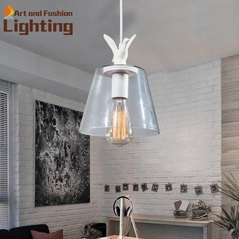 decorative dove design transparent glass pendant light vintage edison light 2016 decorative dove design transparent glass pendant light vintage edison light north european style village glass