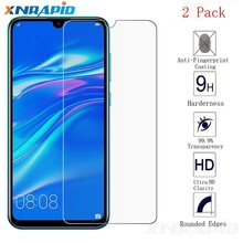 2PCS is suitable for huawei Y6 Pro 2019 protective screen film 9H tempered glass