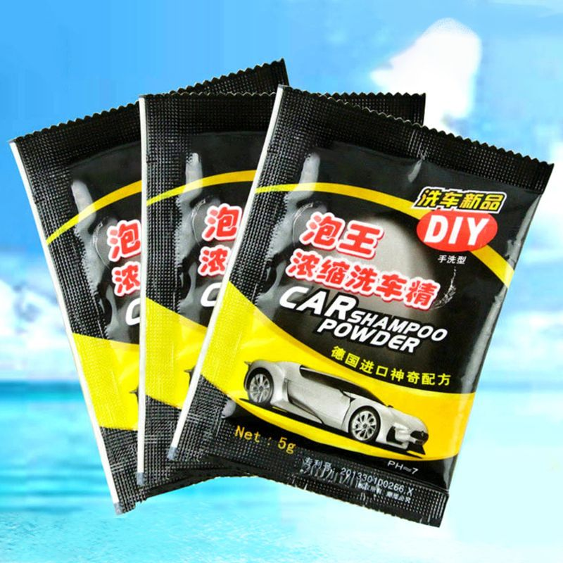Image 4 - 5Pcs Powder Car Wash Shampoo Universal Cleaning Car Shampoo Multifunctional Cleaning Tools-in Car Washer from Automobiles & Motorcycles