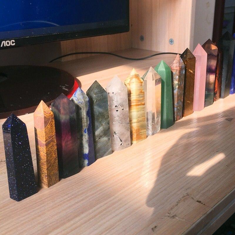 12 pc Quartz Crystal Variety Obelisk for Reiki Healing